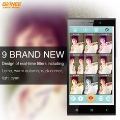 Love filters? Choose your favorite effect with the #GioneeE7 real time filters. Which one's your favorite? #filter #beauty
