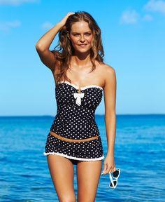32cdbdda01 www.fashion2dream.com Tatana Platon #Bikini #Swimwear Cute Swimsuits,  Vintage Swimsuits