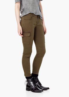 8 mejores imágenes de pantalones cargo mujer  23246e2b2b49