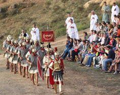 Fotogalería - Representación del cerco de Escipión a Numancia.