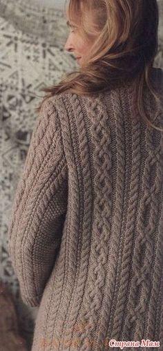 Trendy knitting patterns for women shawl inspiration Cable Knitting, Sweater Knitting Patterns, Knitting Designs, Knitting Projects, Knitting Socks, Hand Knitting, Knitted Jackets Women, Knit Fashion, Crochet