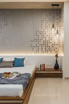 Bedroom Wall Design Ideas Inspirational 46 Cool Bedroom Tv Wall Design Ideas with Images Interior Design Minimalist, Minimalist Bedroom, Modern House Design, Home Design, Wall Design, Design Design, Design Concepts, Graphic Design, Bedroom Tv Wall