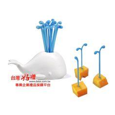 台灣好禮 - 鯨魚水果叉 - 36元