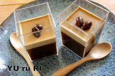 おすすめ!勝手に二層のコーヒームース&ゼリー | YU ru RI ~セミベジタリアンyuriのごはんとお菓子~