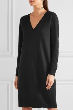 Proenza Schouler | Cutout merino wool-blend dress | NET-A-PORTER.COM