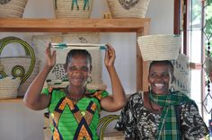 AWF works with women to help them establish businesses and sustainable incomes. Photo: Andrea Athanas