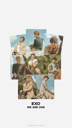 Exo Kokobop, Exo Chanyeol, Exo Album, K Wallpaper, Pastel Wallpaper, Exo Group, Exo Lockscreen, Exo Ot12, Chanbaek