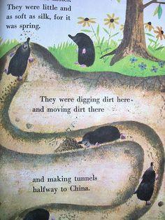 Happy, Get that mole!!