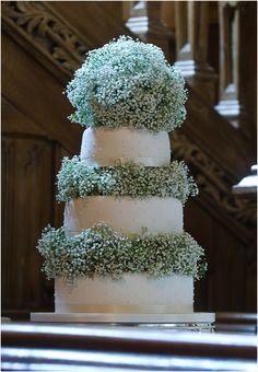Gypsophelia Cake Decoration