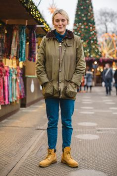 Barbour People — We spotted Lucy on a chilly afternoon at Winter...