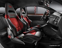 Number 1 source for Fiat 500 information in the U. Fiat or 500 Abarth, it's all here. Fiat news, info and how to's. Fiat 500 Interior, Car Interior Design, Interior Ideas, Jeep Seats, Baby Car Seats, Fiat 500 Price, 2015 Fiat 500, Ferrari, Automotive Upholstery