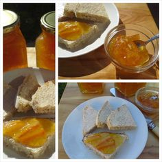 Sweet orange marmelade and homebaked bread. Mexican, Bread, Orange, Ethnic Recipes, Sweet, Food, Candy, Breads, Bakeries