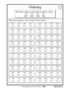math worksheet : 1000 ideas about ordering numbers on pinterest  place values  : Ordering Decimals From Least To Greatest Worksheet