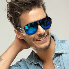 Men s Colorful Classical Frog Aviator Sunglasses Unisex Oculos De Sol  Feminino Vintage Polarized Sunglasses Women f9d5097250