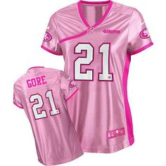 225c51135 nike nfl jersey Nike Aldon Smith Pink Women s Be Luv d Embroidered NFL  Elite Jersey nfl jersey by nike. san francisco 49ers store · Frank Gore ...
