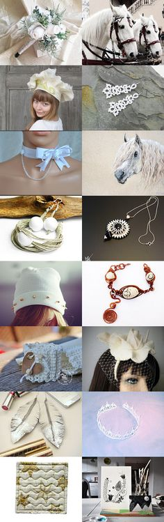 Poletsy White collection. :) by Radosław on Etsy--Pinned with TreasuryPin.com