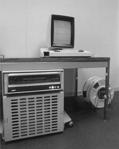 1973 - Xerox Alto computer at the Xerox Palo Alto Research Center (PARC). First machine (demo) to use a mouse (primitive), and Ethernet protocol. The CPU sat under a desk; display, mouse, and keyboard sat on top.   Steve Jobs toured the Xerox PARC facilities in 1979 and recognized the utility of the GUI. The design of Apple's Lisa computer was   changed to be GUI-based. Xerox also developed a GUI machine called the Star for the mass market, but both machines were flops due to   high prices.