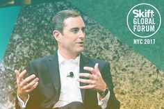 Video: IHG CEO on Where Hell Break New Ground  IHG CEO Keith Barr pictured here spoke at Skift Global Forum in New York City in September. Skift  Skift Take: Barr is touting his experience in China and his company's long presence there as an advantage in understanding global consumer trends. But is that enough to raise the company's cool factor in western markets?   Dan Peltier  Now that CEO Keith Barr has taken the reigns at International Hotels Group there are a few things he plans to do…