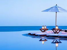 Paradise Infinity-Edge Pool in Baja Peninsula