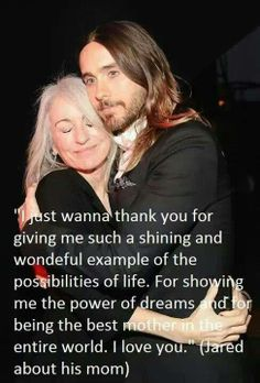 Jared's speech about his mom Constance at SAG Awards 1/18/14