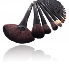 Beau Belle Make Up Brushes - Makeup Brushes - Make Up Brushes Set - Makeup Brush Set - Makeup Brushes Sets - Make Up Brushes Set with Case - Make Up Brushes Set Professional - Professional Make Up Brushes Best Makeup Brushes, Makeup Brush Set, Best Makeup Products, Eyebrow Makeup, Eyeliner, Makeup Kit Essentials, Best Foundation Makeup, Best Teeth Whitening Kit, Blending Eyeshadow