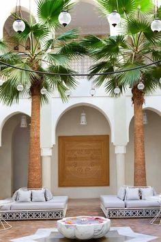 Moroccan terrace