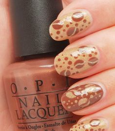 O.P.I. is in the top brands of best brands of nail polish. It will rarely chip, the brush makes it easy to polish your nails on your own! Love this design