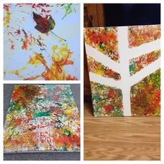 Is that a tree or did paint accidentally fall on your paper? #pinterestfail