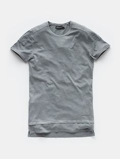 Long-fit t-shirt greencamouflage