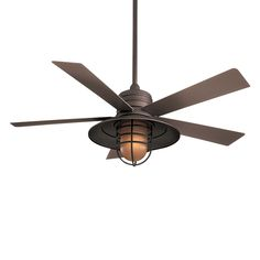 Minka Aire F582 54-in Rainman™ Indoor/Outdoor Ceiling Fan | ATG Stores