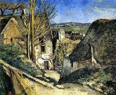 Paul Cezanne La casa dell'impiccato 1873
