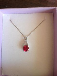 Red ruby necklace for Bride