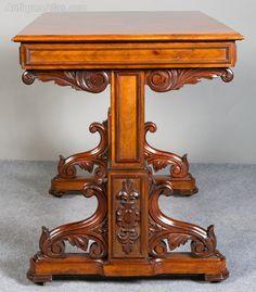 ~ Victorian Metamorphic Centre Table ~ antiques-atlas.com