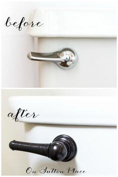 How to Update a Bathroom | 5 DIY Ideas | Take an outdated bathroom from drab to fab! This shows five specific things you can do that are easy and budget friendly. If you aren't up for a full gut job, check this out! #spon
