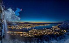 fotos siena 2016 07: Audun Rikardsen (Noruega). Urban skiing in the Arctic. Ganador categoría Sport.