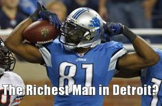 $167M for 7 years?! I'd say Megatron got a MegaDeal.