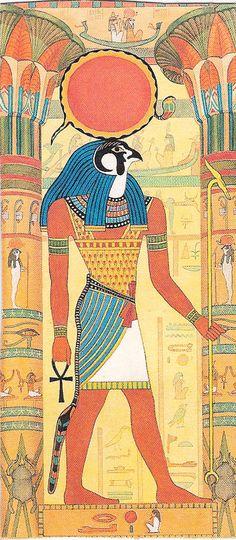 Horus  .... YOU BIG DUMMIES...