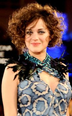 Marion Cotillard - channeling a French poodle?