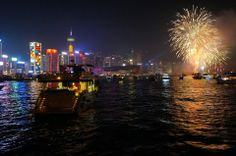 What better way to kick of the #YearOfTheHorse than to watch #ChineseNewYear fireworks from a chartered boat on Victoria Harbor, #HongKong? - via @Pristine O Remolona