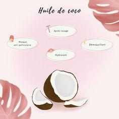 Lifestyle, Coconut Oil, Face, Makeup