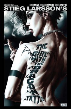 Take a sneak peek at 'The Girl With the Dragon Tattoo' graphic novel -- EXCLUSIVE