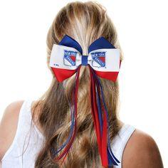 New York Rangers Women's Streamer Bow - $8.99