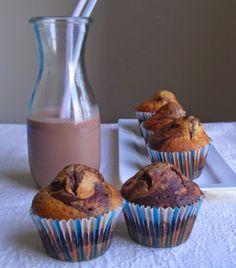 Yogurt cocoa muffins