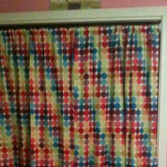 Curtain instead of closet door