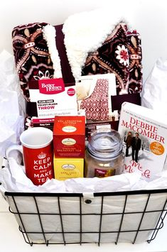 Winter Warm-Up Gift Basket basket ideas for women christmas How to Create . Winter Warm-Up Gift Basket basket ideas for women christmas How to Create a Winter Warm-Up Gi Gift Baskets For Women, Themed Gift Baskets, Raffle Baskets, Diy Gift Baskets, Christmas Gift Baskets, Christmas Gifts For Mom, Theme Baskets, Food Baskets, Wine Baskets