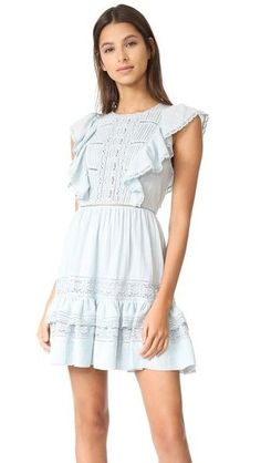 Rebecca Taylor Gauze Dress with Laceby: Rebecca Taylor@Shopbop  Continue reading...
