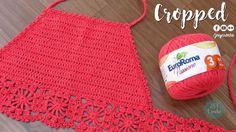 Top Cropped de crochê | todos os tamanhos - JNY Crochê - YouTube
