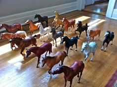 As well as a huge collection of Breyer horses... | 32 Childhood Signs That You Would Always Be Obsessed With Animals