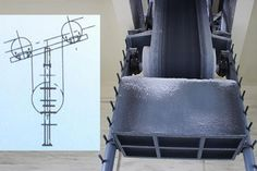 Vertical type tensioning device of belt conveyor