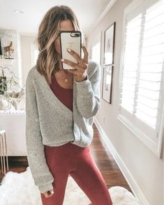 Fashion Tips Videos .Fashion Tips Videos Cute Lounge Outfits, Cozy Fall Outfits, Lazy Day Outfits, Cute Comfy Outfits, Trendy Outfits, Fashion Outfits, Cute Legging Outfits, Casual Mom Outfits, Grunge Outfits